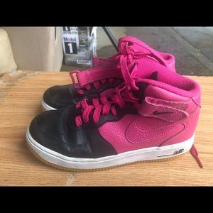 Nike Air Force 1 Girl's Mid Retro Shoes Sneakers